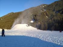 Schneeproduktion